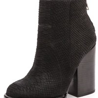 Ash Delire Python Printed Booties
