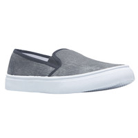 Washed Canvas Slip-On Shoes | Wet Seal