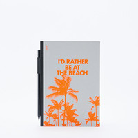 I'd Rather Be at the Beach A5 Notebook - Urban Outfitters