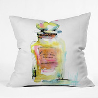 DENY Designs Home Accessories | Marta Spendowska Perfume 1 Throw Pillow