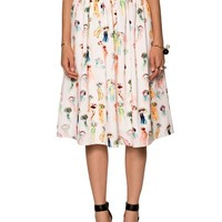Jellyfish Midi Skirt