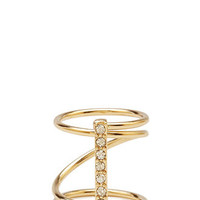 FOREVER 21 Twisted Knuckle Ring