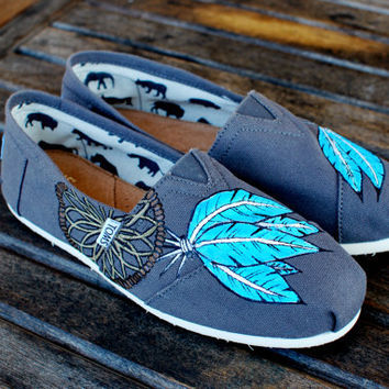 Native American Dream Catcher TOMS shoes