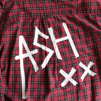 5 Seconds of Summer 5SOS Ashton Irwin Inspired Flannel Mens S