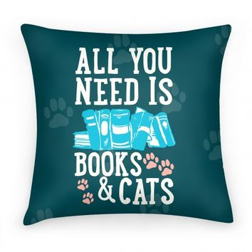 All you Need Is Books And Cats