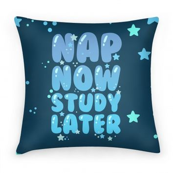 Nap Now Study Later