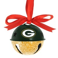 Green Bay Packers Jingle Bell Ornament