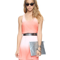 Essential Blushing Shift Dress