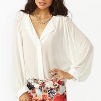 Vienna Chiffon Blouse