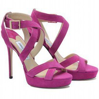 mytheresa.com - Jimmy Choo - VAMP SUEDE SANDALS - Luxury Fashion for Women / Designer clothing, shoes, bags