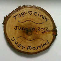 Wedding Coaster, Wedding Table Decor, Rustic Coaster, Log Coaster, Wood Coaster, Drink Coaster