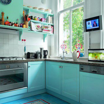 Retro Kitchen Design 5 - Modern Homes Interior Design and Decorating Ideas on Decodir