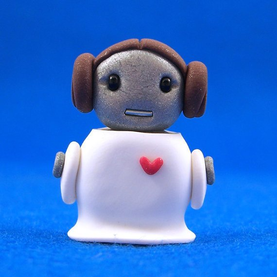 Princess Leia Bot