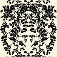 Timorous Beasties - Wallcoverings  - Leaf Superwide