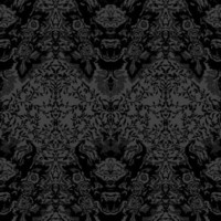 Timorous Beasties - Wallcoverings  - Devil Damask Flock