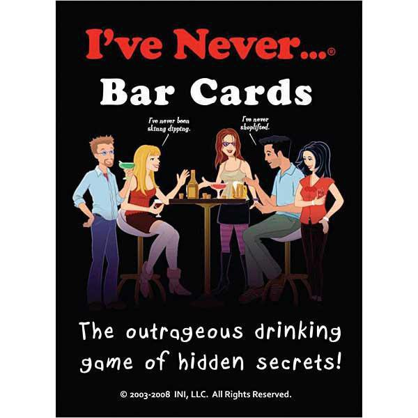 I've Never Game Cards - Adult Games - Sexy Extras