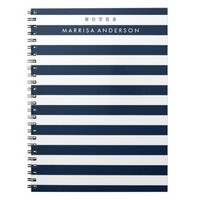 Mod Stripes Notebook