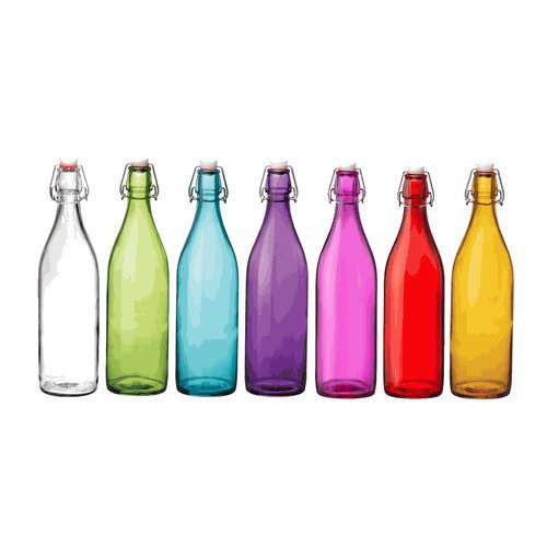 Giara Hermetic Glass Bottles by Bormioli Rocco