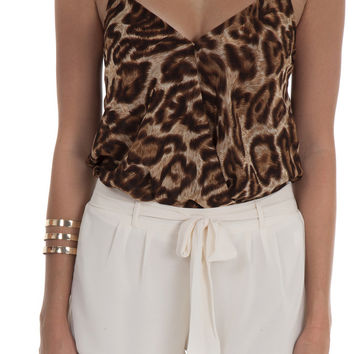 Olivaceous Top Halter Leopard – Famous Style by Stalhi Boutique