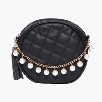 Pearl Quilted Purse