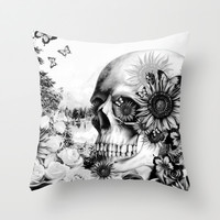 Reflection Throw Pillow by Kristy Patterson Design