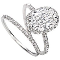 Harry Winston | Products | Engagement | Diamond Rings | Micr... - Polyvore