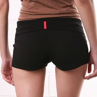 Fold Cap Shorts - Gym Clothes - Cute Clothes at pinkice.com