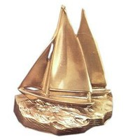 Brass Bookends | Twin Sailboats