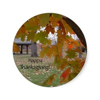 Happy Thanksgiving Stickers by Janz