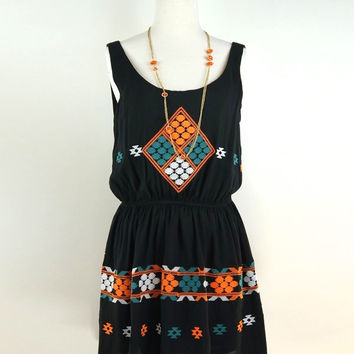 Freeway Tribal Tank Dress