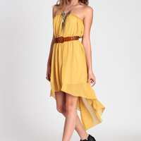 Bright Thoughts Strapless Dress - $42.00 : ThreadSence.com, Your Spot For Indie Clothing & Indie Urban Culture