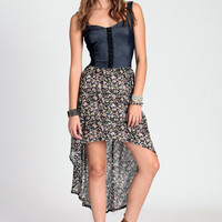 Shameless Garden High-Low Dress - $46.00 : ThreadSence.com, Your Spot For Indie Clothing & Indie Urban Culture