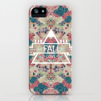 FALL LOVE iPhone & iPod Case by Nika | Society6
