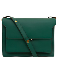 Marni Large Green Trunk Leather Bag | Designer Bags | Liberty.co.uk