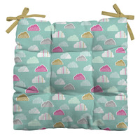 Wendy Kendall Petite Clouds Outdoor Seat Cushion
