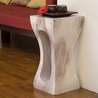 Squeezed Rectangle Stool: Earth Friendly Furniture and Products - Terra Furnishings