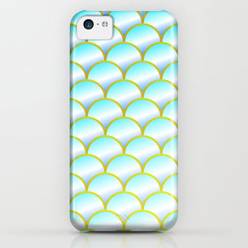 Mermaid or Fish Scales Pattern iPhone & iPod Case by CreativeAngel | Society6