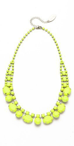 Adia Kibur Short Neon Stone Necklace | SHOPBOP