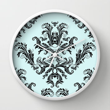 Damask Pattern Wall Clock by All Is One