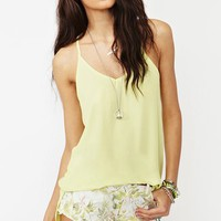 Ashland Racerback Tank - Yellow