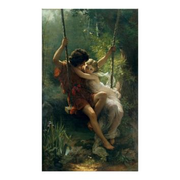 Springtime by Pierre Auguste Cot