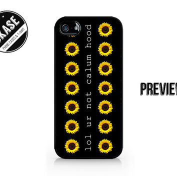 lol ur not calum hood - Calum Hood - Cal - 5SOS - 5 Seconds of Summer - Available for iPhone 4 / 4S / 5 / 5C / 5S - 626