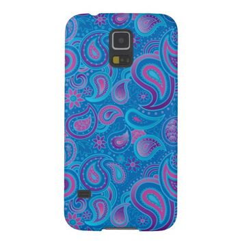 Cool Bright Paisley Pattern Samsung Galaxy S5 Case