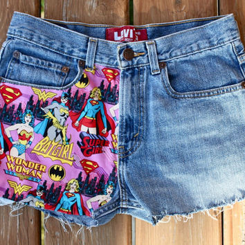 Marvel Print Levi's Shorts