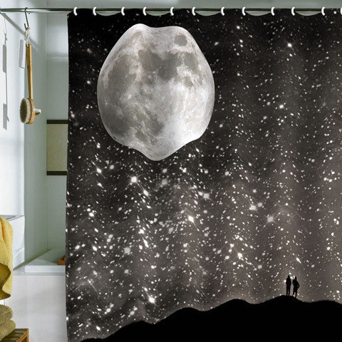 DENY Designs Home Accessories | Shannon Clark Love Under The Stars Shower Curtain