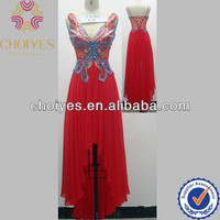 Source 2013 funcy front butterfly front short back long prom dress on m.alibaba.com