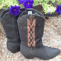 Leather Boots Women&#x27;s Size 8.5 Code West