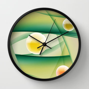 Symmetric Irregularities Wall Clock by Texnotropio