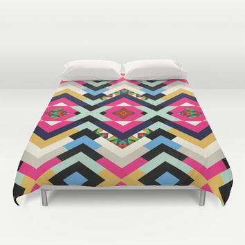 Mix #591 Duvet Cover by Ornaart | Society6