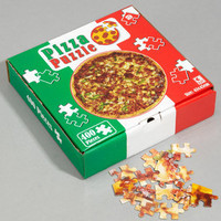Pizza Puzzle | Takeaway Pizza 400 Piece Puzzle | fredflare.com